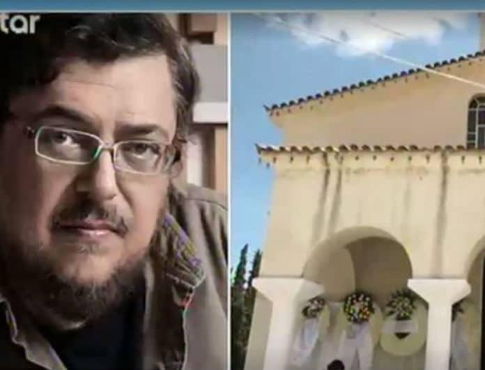 Λαυρέντης Μαχαιρίτσας: Τα πρώτα πλάνα από το νεκροταφείο! Συγκινεί το στεφάνι της γυναίκας του!
