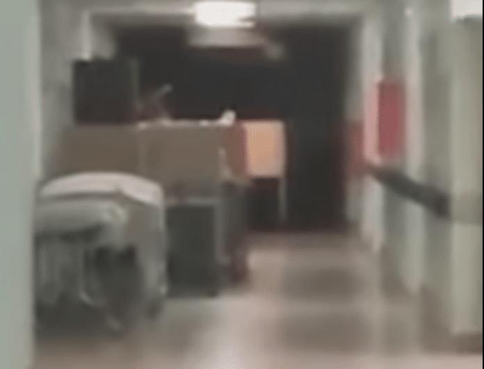 Βίντεο που προκαλεί ανατριχίλα! Νεκρό αγοράκι εμφανίζεται σε θάλαμο νοσοκομείου!