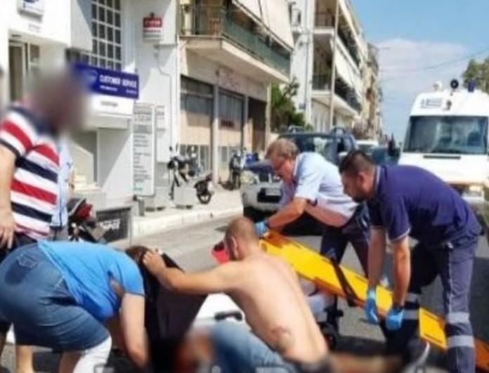 Τροχαίο-σοκ στη Λαμία: Βαριά τραυματίας ένας ντελιβεράς! (Βίντεο)