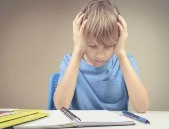 Γονείς δώστε προσοχή! Μειώστε το άγχος των παιδιών για το σχολειό με αυτούς τους τρόπους!