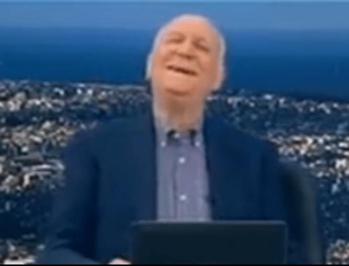 Γιώργος Παπαδάκης: Επικό τρολάρισμα από καλεσμένο του για το ατύχημα με την καρέκλα! (Βίντεο)