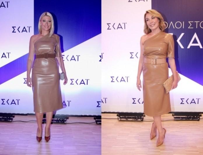 Τατιάνα Στεφανίδου - Σία Κοσιώνη: Άλλη παρουσιάστρια είχε φορέσει πρώτη το φόρεμά τους!