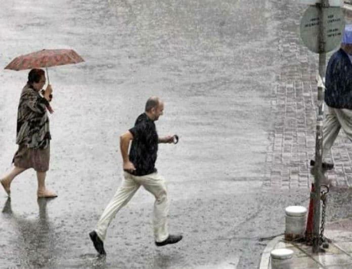 Έκτακτο δελτίο καιρού: Έρχονται καταιγίδες, χαλάζι και πτώση θερμοκρασίας!
