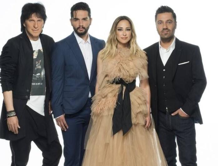X Factor: Ανακοινώθηκε η πρεμιέρα του! Το εντυπωσιακό κόκκινο φόρεμα της Δέσποινας Βανδή!