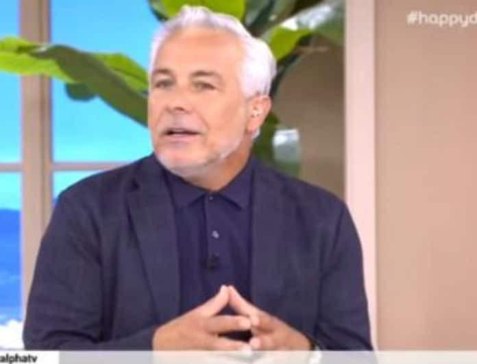 Χάρης Χριστόπουλος: Η δημόσια συγγνώμη στην Γωγώ Γαρυφάλλου -  «Ξέρετε πως είμαι...»!