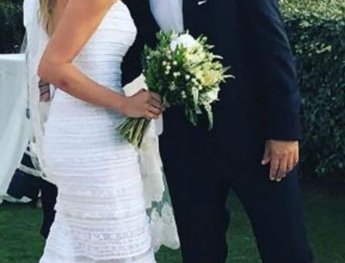 Λαμπερός γάμος στην Ελληνική showbiz με κουμπάρους Mαριέττα Χρουσαλά και Λέων Πατίτσα!