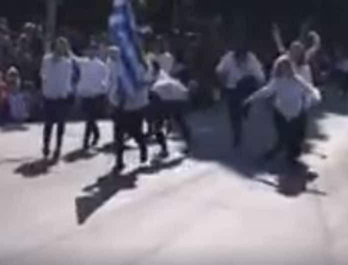 Βίντεο - σοκ παρέλασης 28ης Οκτωβρίου! Χλευασμός και αγένεια!