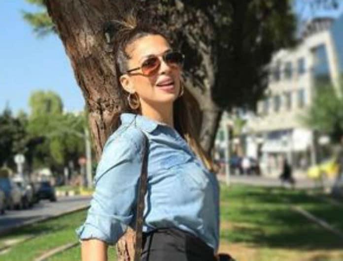 Ελένη Χατζίδου: Χωρίς ίχνος φίλτρου το κορμί της μετά τη γέννα!