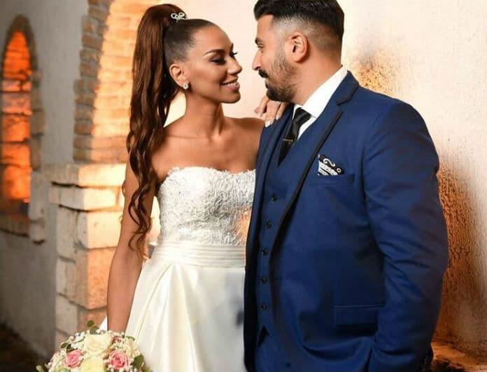 Παντελίδης - Φιλίππου: Νέες φωτογραφίες από το γάμο τους! Τα τρυφερά φιλιά και η «βροχή» από ρύζι!