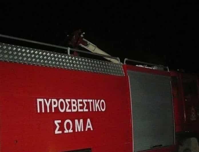 Φωτιά σε εργοστάσιο στην Κρήτη! Στο νοσοκομείο εργαζόμενος!