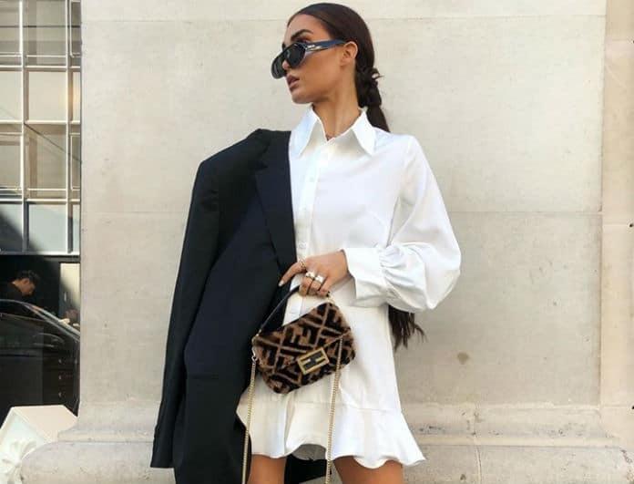 Ταίριαξε σωστά το σταυρωτό blazer με φόρεμα και πρόσθεσε κομψότητα στην εμφάνιση σου!