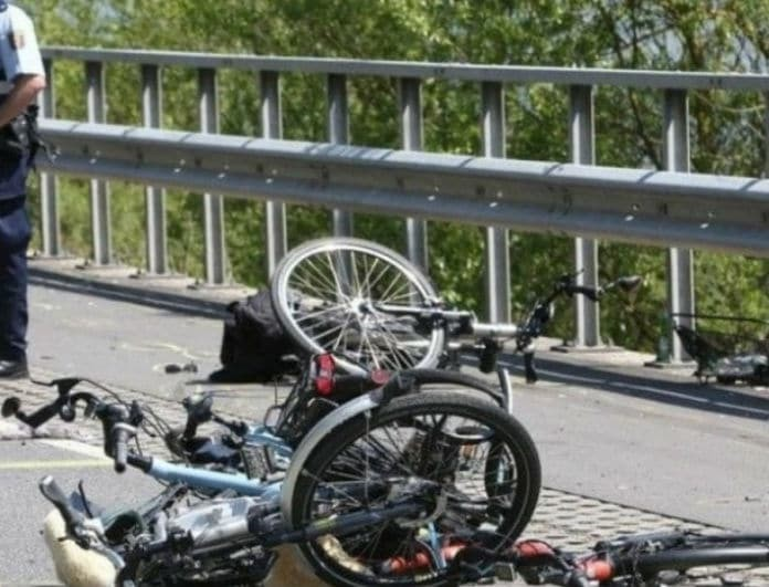 Τραγικό τέλος! Ποδηλάτης πέθανε λίγο πριν τερματίσει!