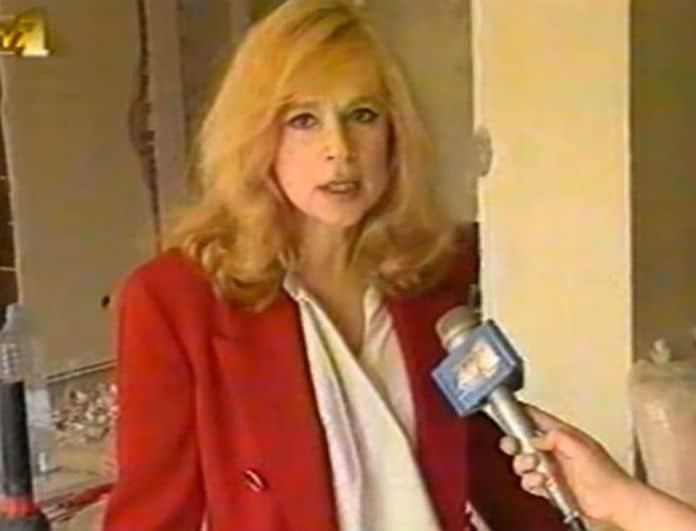 Αλίκη Βουγιουκλάκη: Βίντεο ντοκουμέντο μέσα από το σπίτι της που κάηκε! Φώναζε μπροστά στις κάμερες!