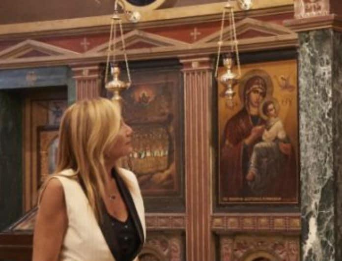Μαρέβα Μητσοτάκη: Με την πιο σικάτη εμφάνιση στο πλευρό του Κυριάκου!