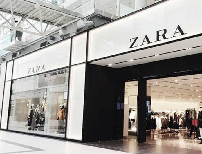 Zara - προσφορές: Όλες οι γυναίκες θέλουν αυτό το μπλε φόρεμα! Από 35 ευρώ έπεσε στα 16!