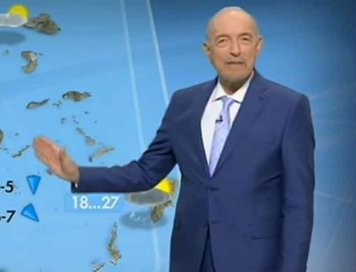 Τάσος Αρνιακός: Η πρόγνωση του μετεωρολόγου για τον καιρό της Κυριακής! (Βίντεο)