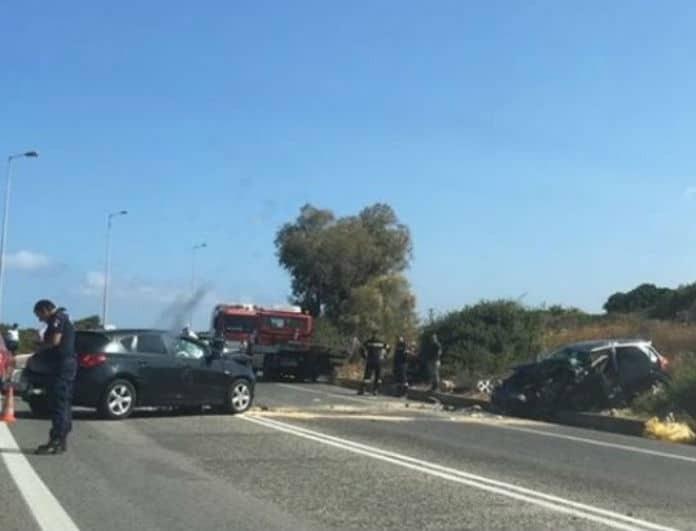 Κρήτη: Διασωληνωμένο 5χρονο μετά από σοβαρό τροχαίο!