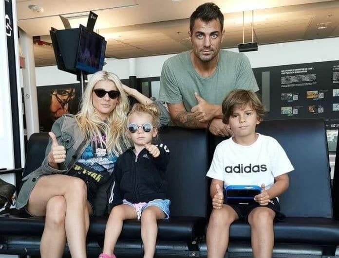 Στέλιος Χανταμπάκης - Όλγα Πηλιάκη: Ο γιος τους έγινε 6 και του ετοίμασαν ένα ξεχωριστό party!