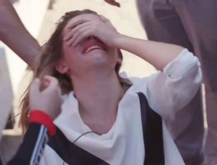 GNTM: Κατέρρευσε η Άννα μετά την φωτογράφιση! Την κρατούσε η Χριστοπούλου! (Βίντεο)
