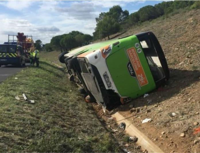 Τραγωδία! Ένας νεκρός και 17 τραυματίας από τροχαίο με λεωφορείο!