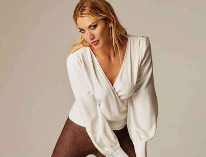 Κωνσταντίνα Σπυροπούλου: Το μπρονζέ φόρεμα που έδειξε την μέση της σαν μοντέλου! Πόσα κιλά έχει χάσει;