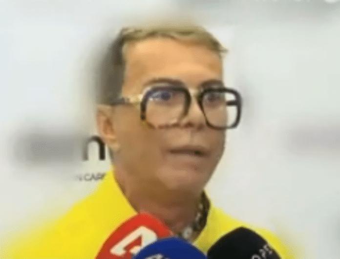Λάκης Γαβαλάς: Έριξε «πυρά» κατά της Ζενεβιέβ! «Κάνε μου την ερώτηση χωρίς το