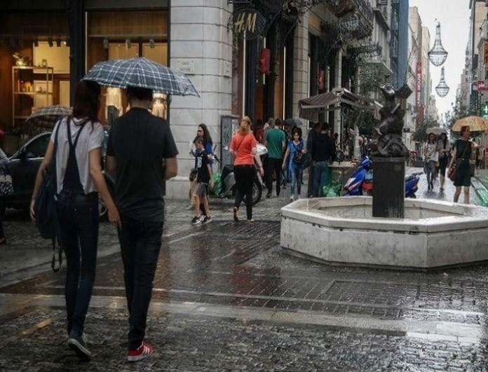 Καιρός: Μικρή άνοδος της θερμοκρασίας με βροχές! Ποιες περιοχές θα έρθουν αντιμέτωπες με καταιγίδες;