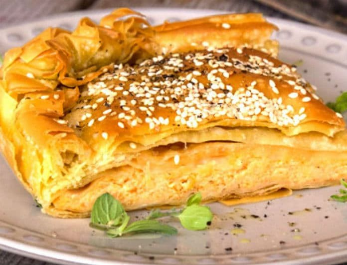 Κασερόπιτα Θεσσαλονίκης: Η πίτα που λατρεύουν μικροί και μεγάλοι!