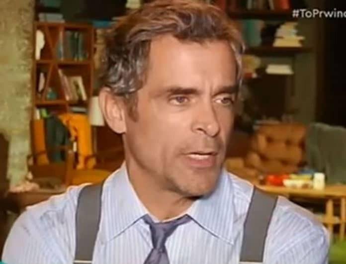 Κωνσταντίνος Μαρκουλάκης: Μίλησε ανοιχτά για την χαμηλή τηλεθέαση του «Λόγω Τιμής»!