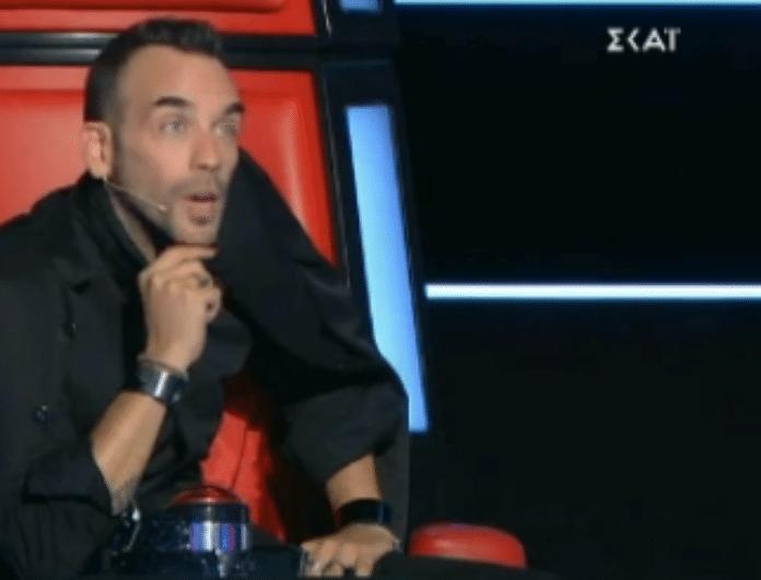 The Voice: Ήξερε τον Μουζουράκη από παλιά και το... απέδειξε δημοσίως! (Βίντεο)