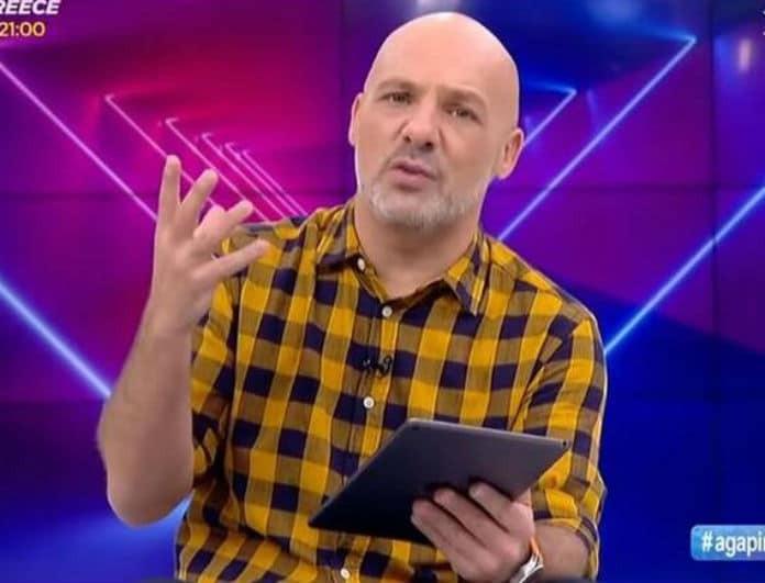 Νίκος Μουτσινάς: Μοιραία η σύγκρουση με γνωστή παρουσιάστρια! Της