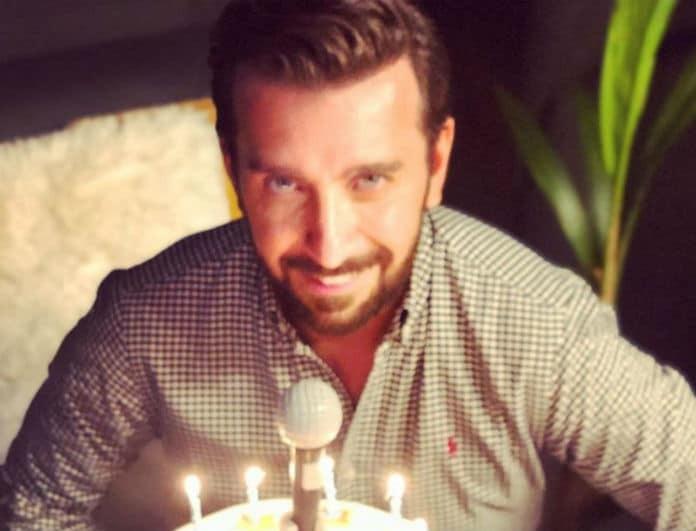 Γενέθλια για τον Θάνο Πετρέλη! Η τούρτα υπερπαραγωγή και η συγκίνησή του!