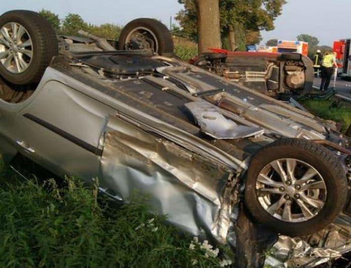 Τροχαίο σοκ στη Λαμία! Αναποδογύρισε αυτοκίνητο- Τι συνέβη;