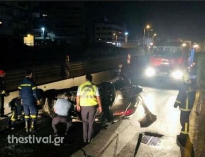 Τραγωδία στην Θεσσαλονίκη! Τροχαίο δυστύχημα με τρεις νεκρούς και 12 τραυματίες!