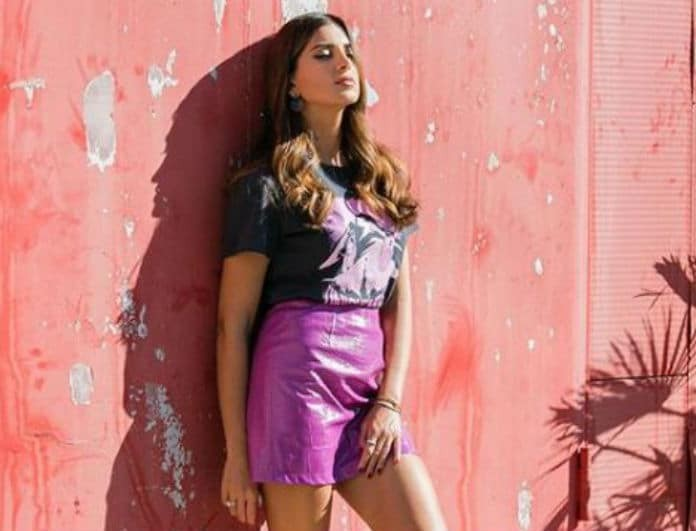 Σταματίνα Τσιμτσιλή: Η φούστα της έχει το χρώμα που θα «τρελαθούμε» να φοράμε φέτος! Κοστίζει 185 ευρώ!
