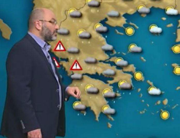 Ο Σάκης Αρναούτογλου σε νέα προειδοποίηση: «Άγριος» ο καιρός έρχεται τις επόμενες ώρες!