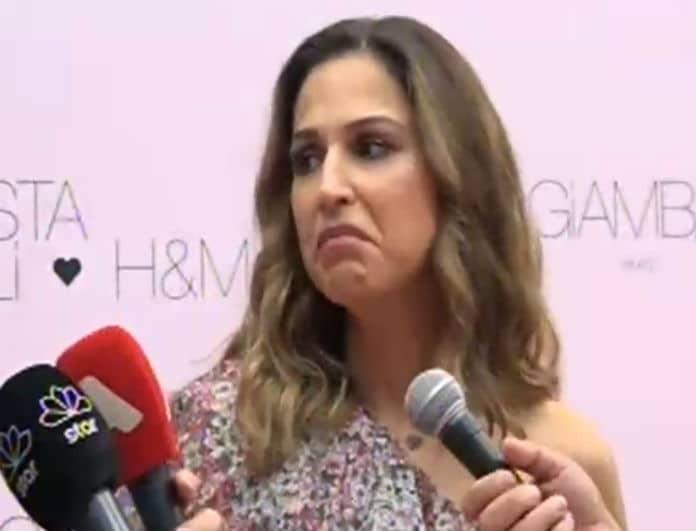 Έξαλλη η Κατερίνα Παπουτσάκη με την ερώτηση για την ονοματοδοσία του παιδιού της! (ΒΙΝΤΕΟ)
