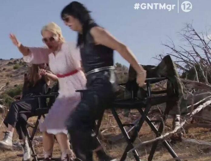GNTM: Πετάχτηκαν όρθιες Ζενεβιέβ και Χριστοπούλου! Τι είδαν και ταράχτηκαν;