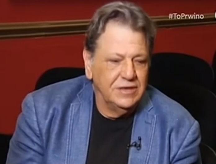 Γιώργος Παρτσαλάκης: Μιλάει ανοιχτά για το ατύχημά του - «Είμαι πικραμένος...»