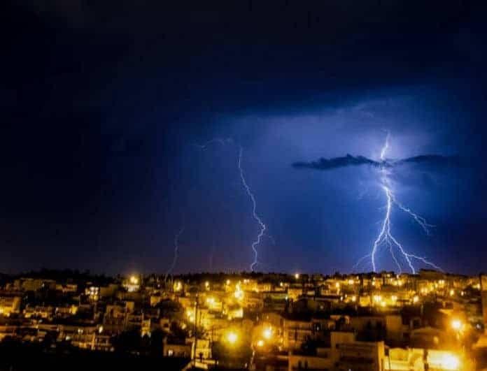Έκτακτο δελτίο καιρού από την ΕΜΥ! Σε ποιες περιοχές θα «χτυπήσουν» οι ισχυρές βροχές και οι καταιγίδες;