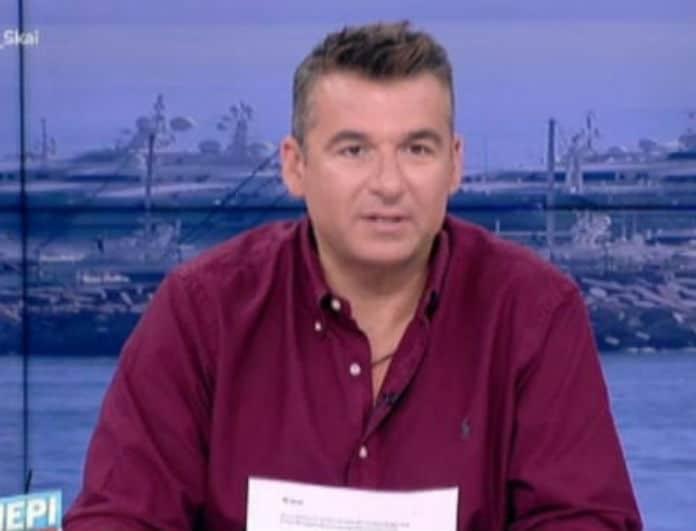 Γιώργος Λιάγκας: Αυτό είναι το πρόσωπο που τον συμβουλεύει μετά τον χαμό στον ΣΚΑΙ!