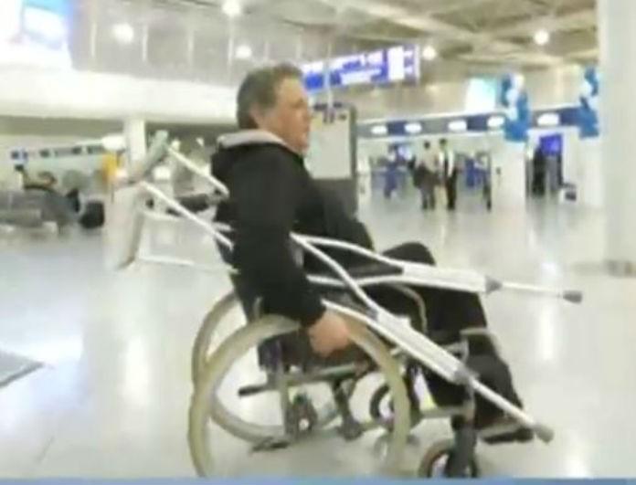 Γιώργος Παρτσαλάκης: Σε αναπηρικό καροτσάκι ο ηθοποιός! Τι συνέβη;
