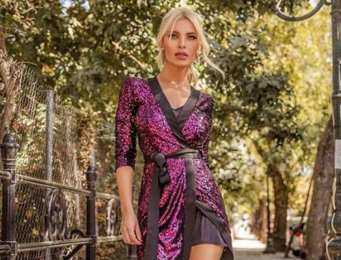 Κατερίνα Καινούργιου: Αν δεν έχεις το σακάκι της, δεν πας πουθενά! Είναι μαύρο και βελούδινο...