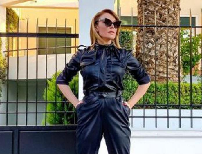 Τατιάνα Στεφανίδου: Το κρεβάτι στο σπίτι της είναι γκρι και τεράστιο! Μοιάζει με βασιλικό!