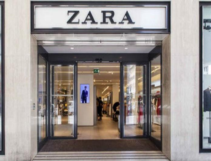 Zara: Αυτό το παντελόνι από τη νέα συλλογή το θέλουν όλες! Έχει κοσμήματα στο πλάι...
