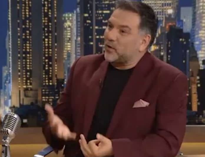 Γρηγόρης Αρναούτογλου: Έξαλλος ο παρουσιαστής!