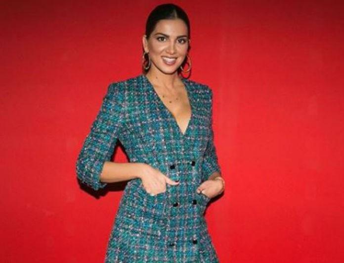 Σταματίνα Τσιμτσιλή: Το φόρεμα της είναι σαν σακάκι και είναι από τα ZARA! Κοστίζει κάτω από 50 ευρώ και προκαλεί φρενίτιδα!