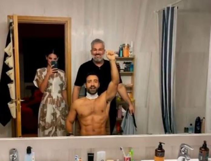 Σάκης Τανιμανίδης - Χριστίνα Μπόμπα: Κυκλοφόρησε βίντεο από το... μπάνιο τους! Σα να μένουν σε παλάτι...
