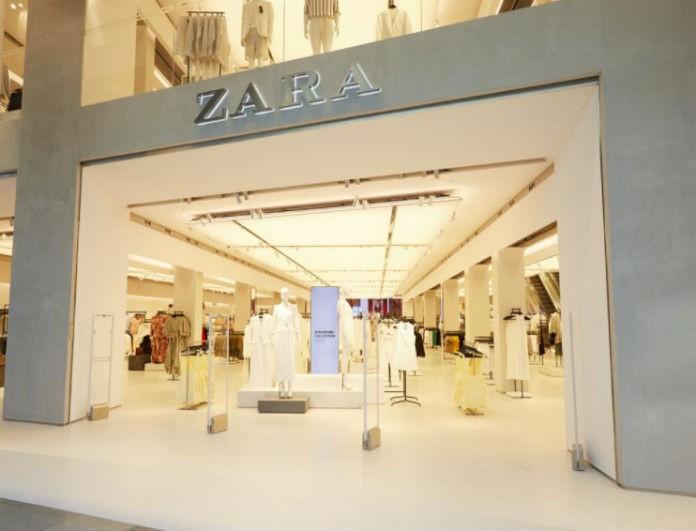 Zara: Από τη νέα συλλογή ξεχώρισε αυτό το πουπουλένιο μπουφάν! Έχει μεταλλικό φερμουάρ...