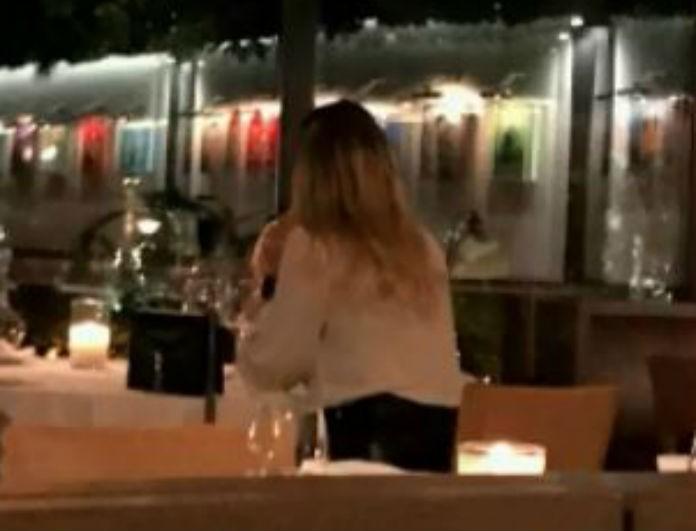 Κωνσταντίνα Σπυροπούλου: Την «τσάκωσαν» σε Ιταλικό εστιατόριο με νέο σύντροφο! (Βίντεο)